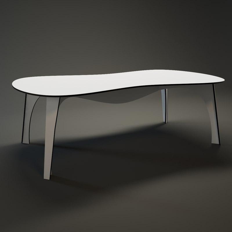 3dsmax moroso waste table