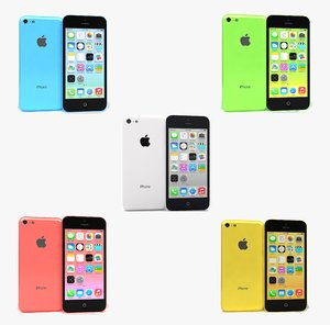 3ds max apple iphone 5c colors