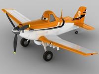 3d dusty crophopper planes model