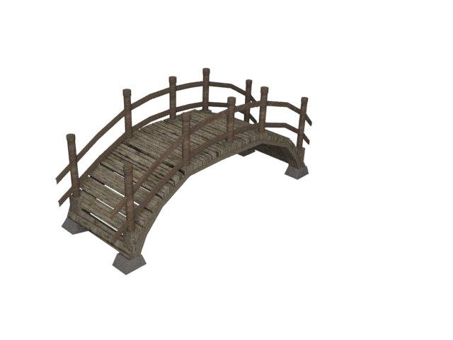 garden bridge model