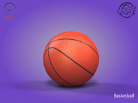 basketball modeled 3d 3ds