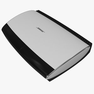 bluray disc player bose 3d model
