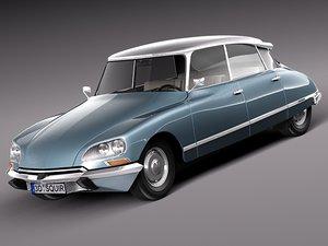 3d 1967 antique sedan 1975 model