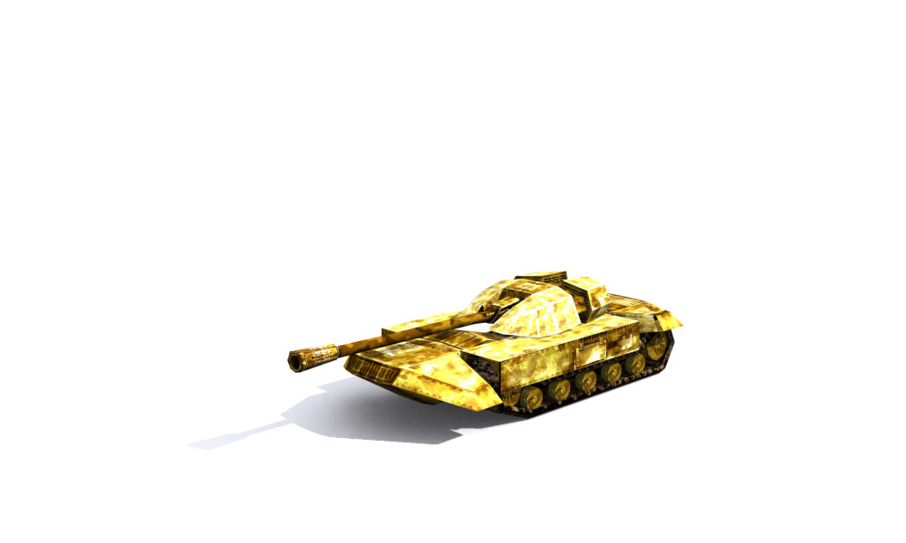 free max model combat tank animation