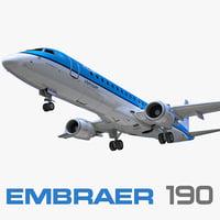 3dsmax embraer erj-190