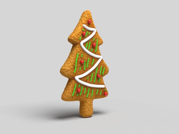 max xmas tree cookie