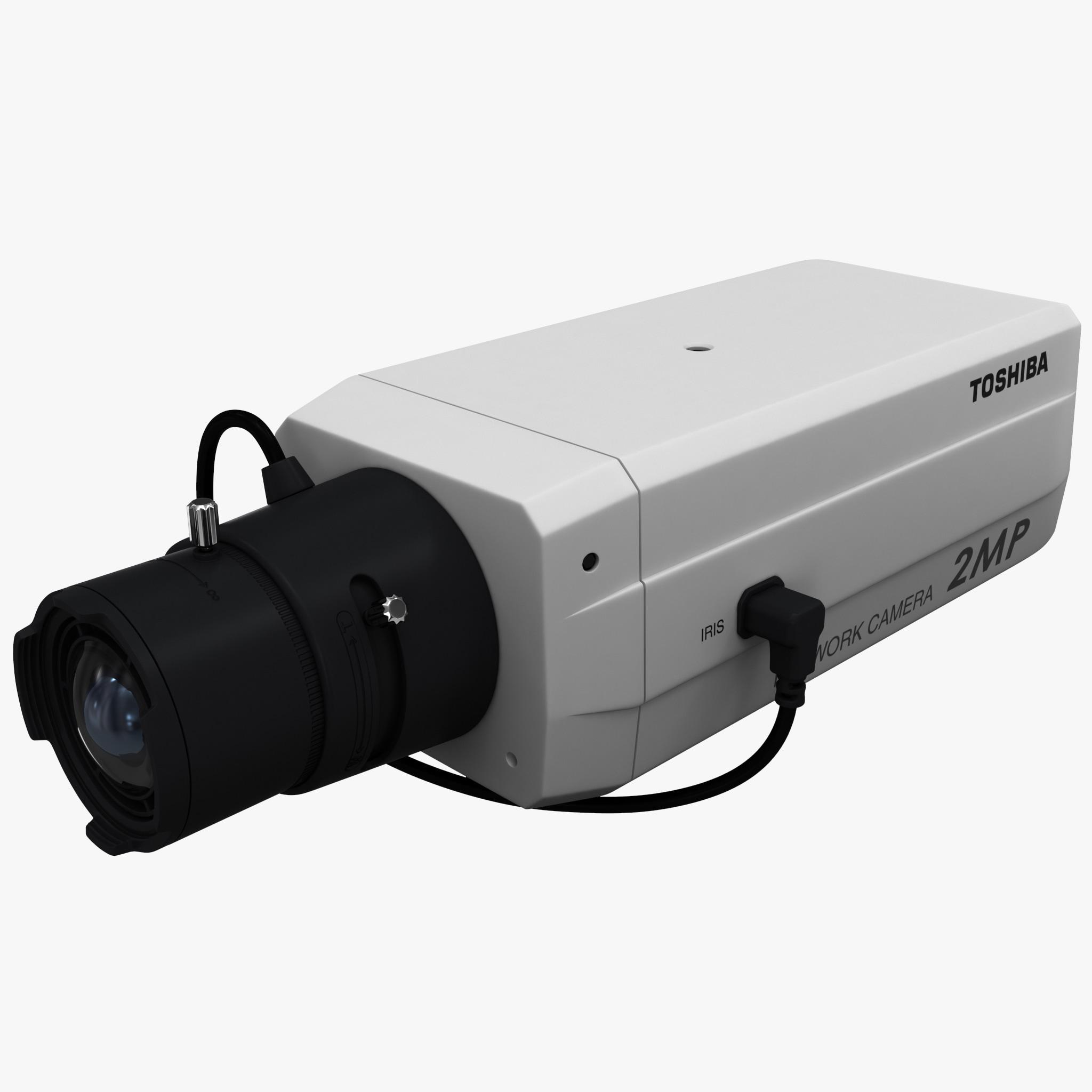 ip network camera toshiba 3d model