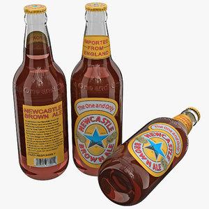 new castle brown ale 3d 3ds