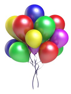 max multicolored balloons