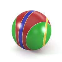toy ball 3d model
