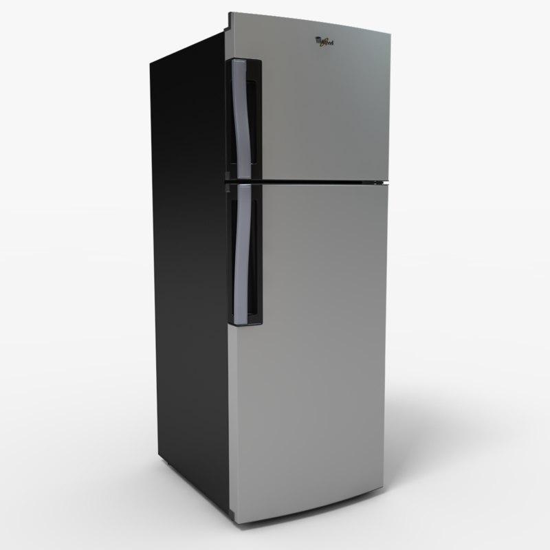 wt2030d refrigerator 3d model