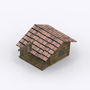free wood shop 3d model