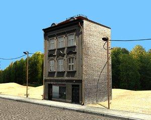 building street 3d ma