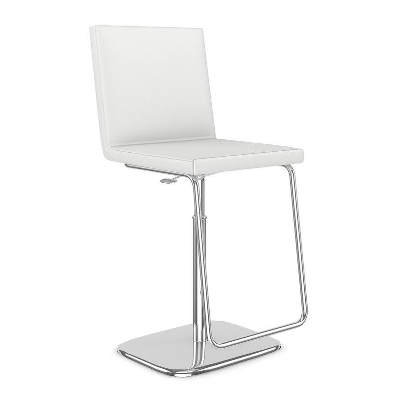 hocker chair 3d max
