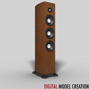 3d stereo floor standing