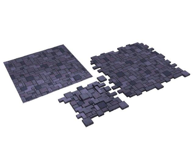 stone floor seamless tile 3d max