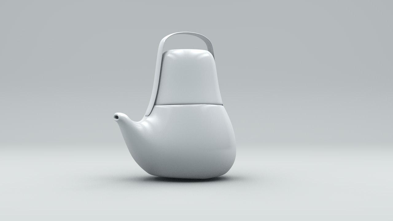free x model designer teapot
