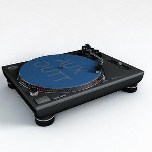 technics 3d model