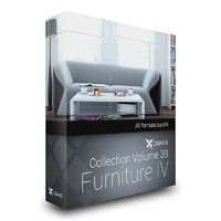 3d cgaxis volume 38 furniture model