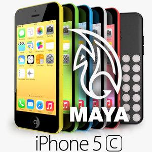 obj apple iphone 5c