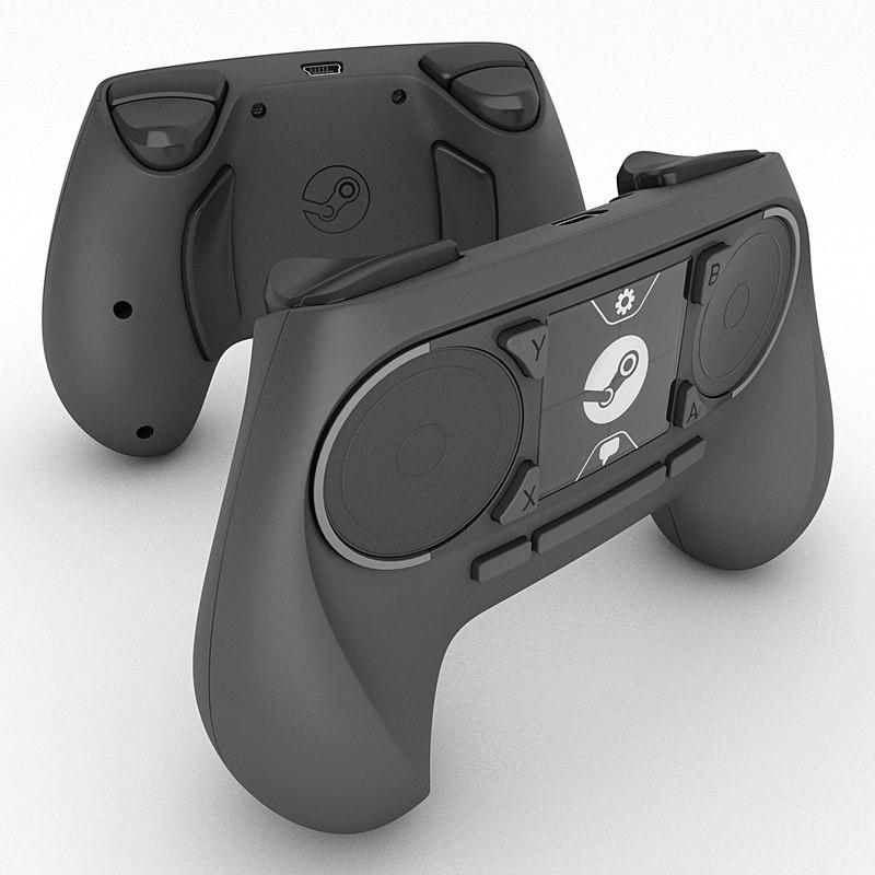 steam controller 3d 3ds