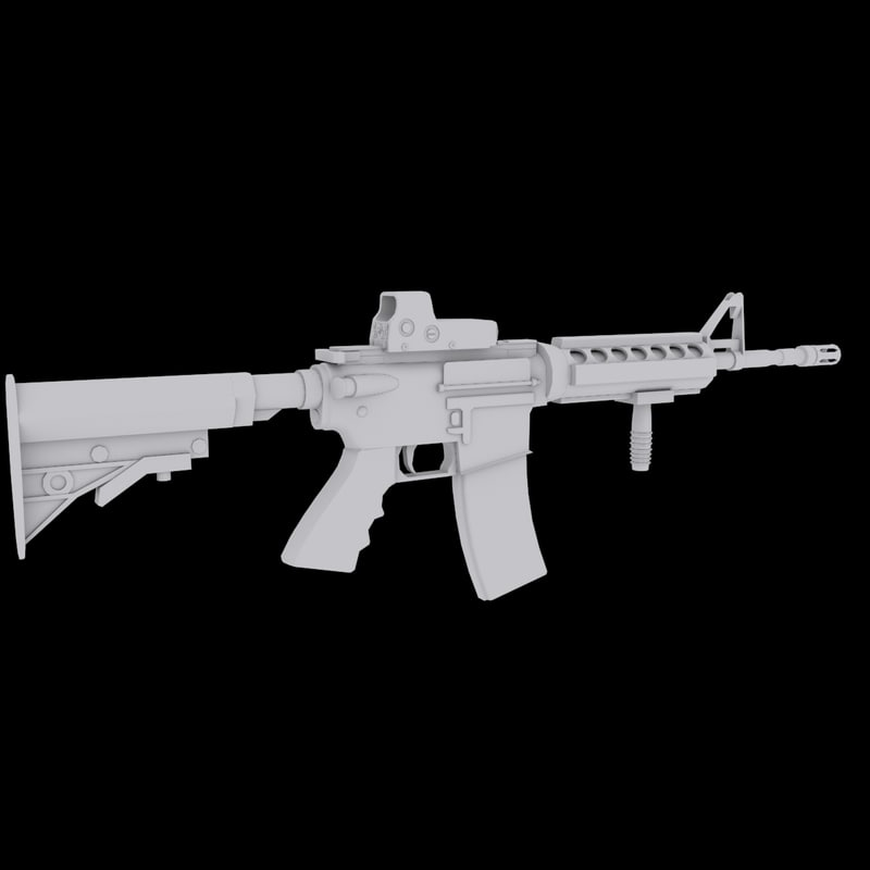 max m4a1 asault rifle