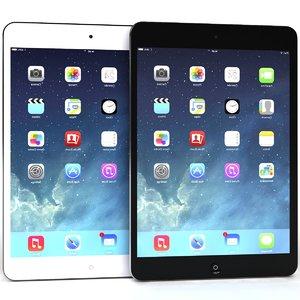 apple ipad air mini 3d 3ds