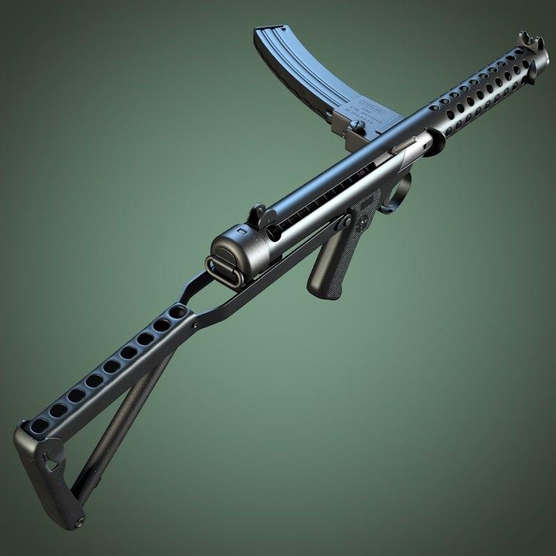 obj sterling submachine gun