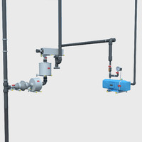 electric pump 3d obj