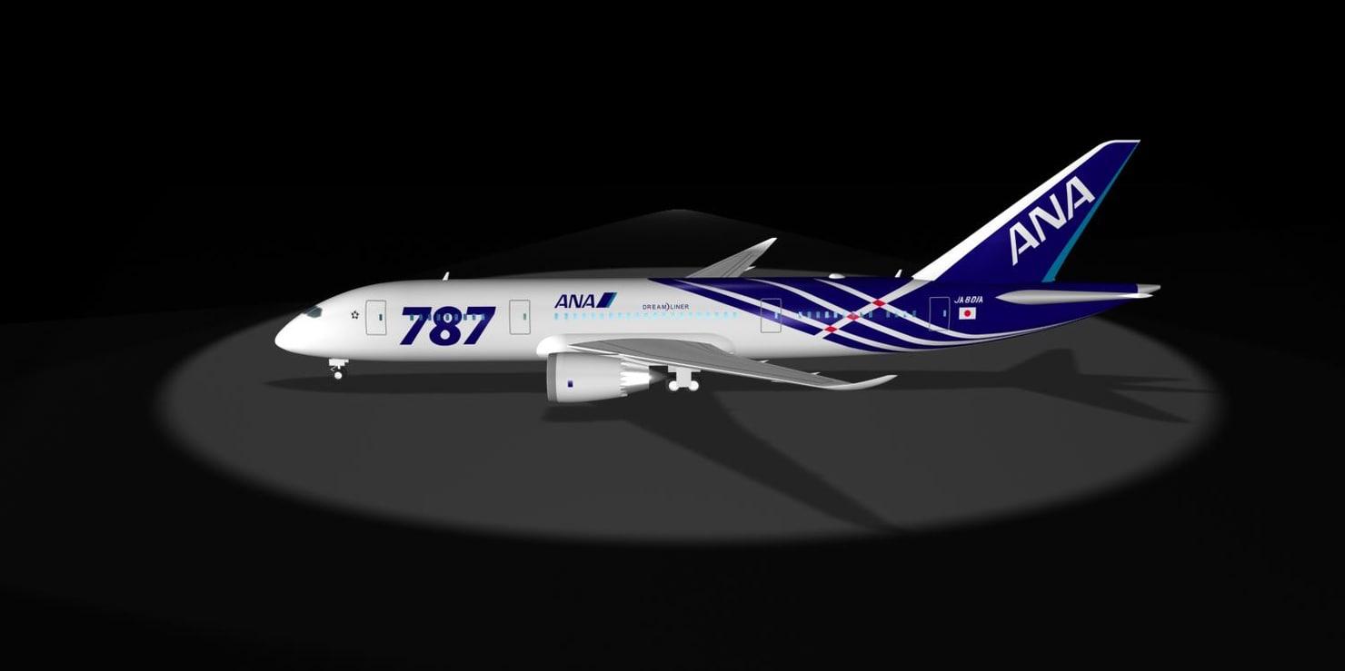 maya ana 787-8 dreamliner 787