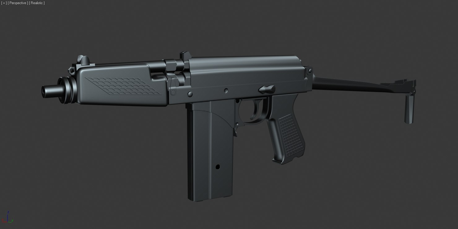 russian 9a91 sub-machine gun max