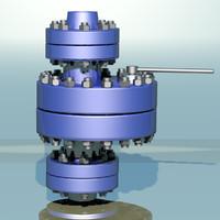 pressure valve 3d model