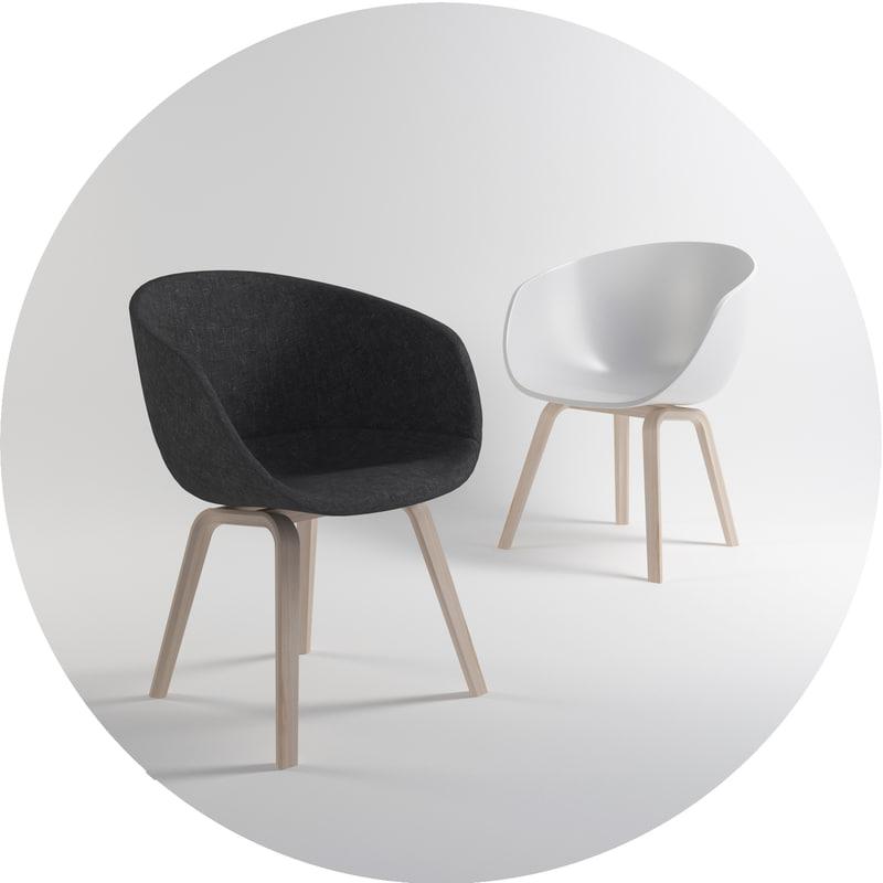 3d hay aac22 chair aac