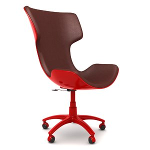 high-tech armchair 3d model