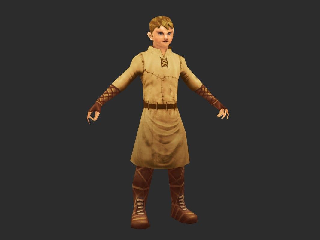 fantasy boy 3d ma