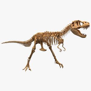 c4d dinosaur t-rex bones 2