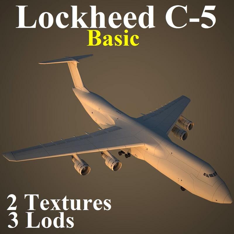 max lockheed c-5 basic