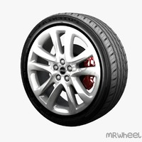 3d model of wheel mrwheel
