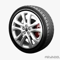 3d model of wheel mrwheel