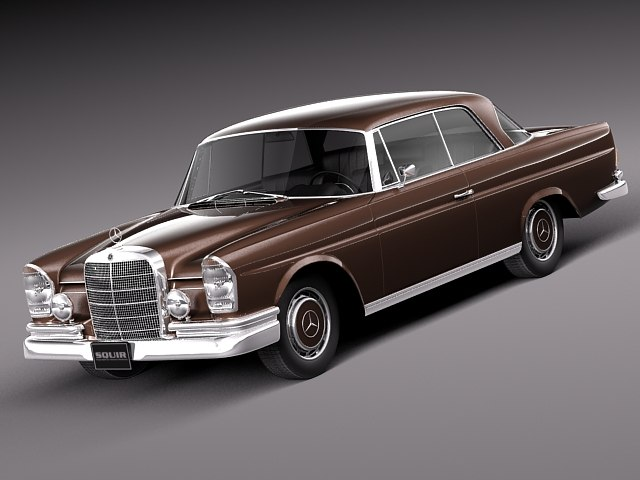3d car classic antique mercedes model for Old mercedes benz models