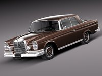 3d car classic antique mercedes model