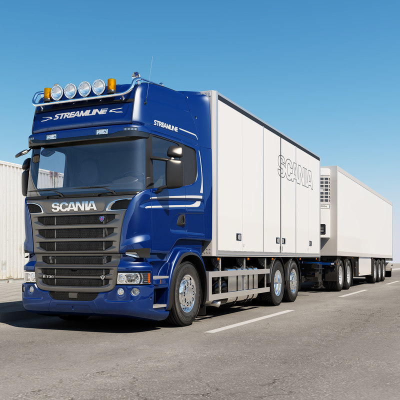 scania streamline truck road max