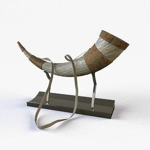viking horn 3ds