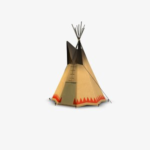 3d tepee structure