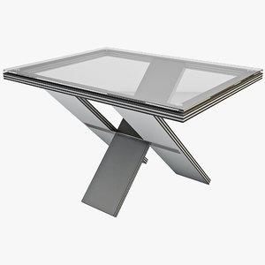 3d model foldaway desk