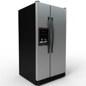 wd2003d refrigerator 3d model