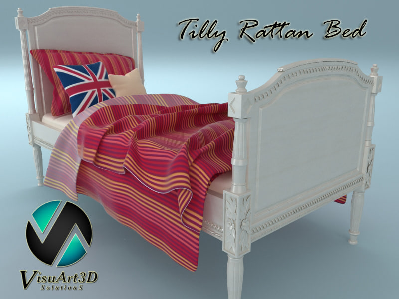tilly rattan bed max