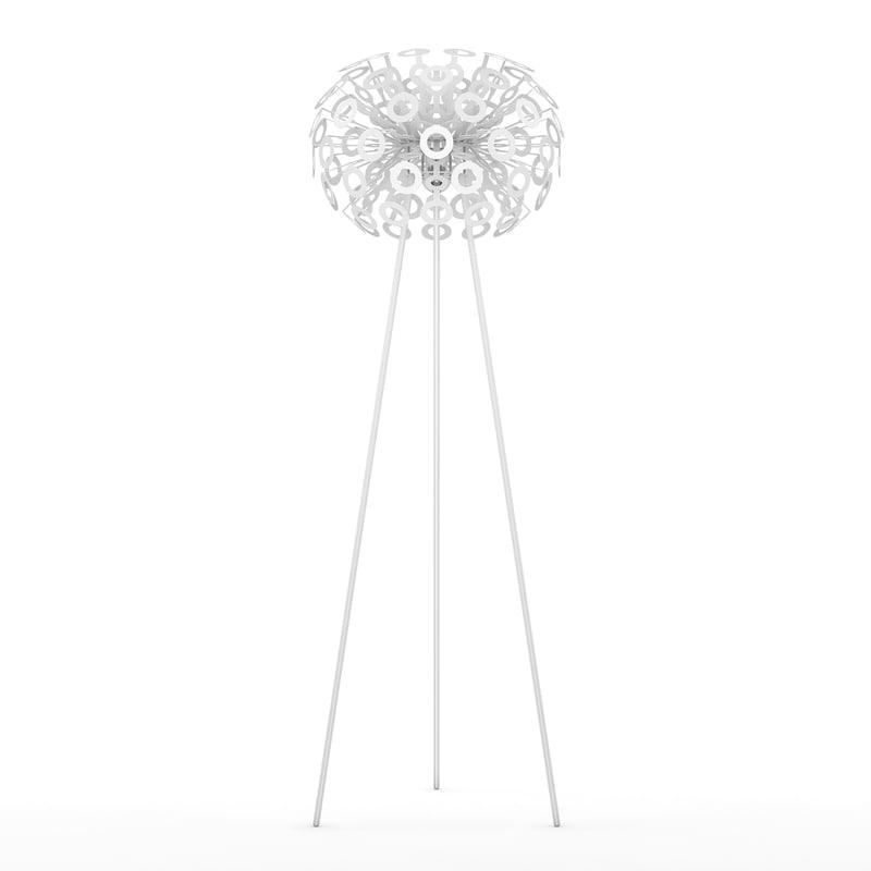 lamp standing 3d model