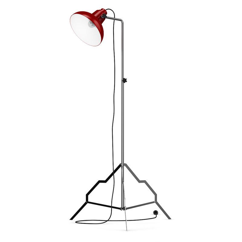 obj lamp standing