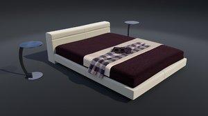 maya luxury bed tables